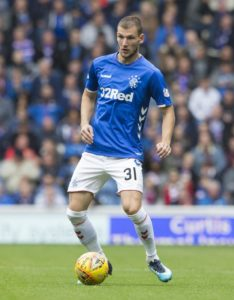 Borna Barisic is a cause for concern for Rangers less than a week before their Old Firm clash with Celtic.