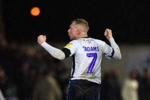 Ryan Lowe has described Nicky Adams as 'one of the best' players he has shared a dressing room with after the midfielder extended his stay at Bury.