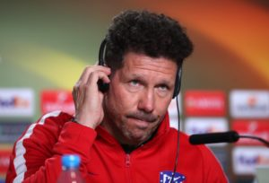 Atletico Madrid boss Diego Simeone has urged his side to focus on their own game and not worry about Saturday's El Clasico.