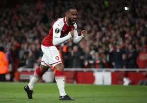 Arsenal are boosted by the return of Alexandre Lacazette when they take on Rennes in the Europa League this evening.