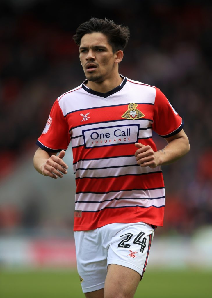 Doncaster have cancelled the contract of Niall Mason following his conviction for sexual assault.