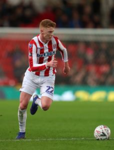 Stoke midfielder Sam Clucas serves the final game of his three-match suspension for the visit of Sheffield Wednesday.