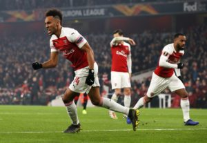 Arsenal will take on Napoli in the quarter-finals of the UEFA Europa League with the first leg to be played on April 11.