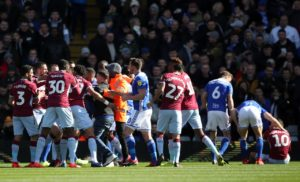 Aston Villa captain Jack Grealish was attacked by a spectator in disgraceful scenes at St Andrew's - before scoring the winner to beat Birmingham.