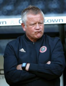 Sheffield United boss Chris Wilder has demanded a strong reaction from his side after the Blades suffered their first defeat in 11 matches.
