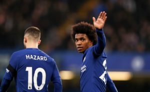 Willian insists he wants to extend his time at Stamford Bridge but admits he is unsure whether or not Chelsea will hand him a new deal.