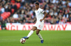 Marcus Rashford was the only absentee from England training a day out from their opening Euro 2020 qualifier against the Czech Republic.