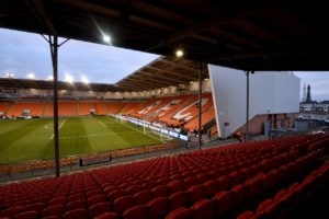 The pitch invasion during Blackpool's home game against Southend is being investigated by the Football Association, Press Association Sport understands.