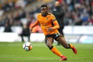 Bright Enobakhare is hoping he still has a future at Wolves even though his contract is due to expire this summer.