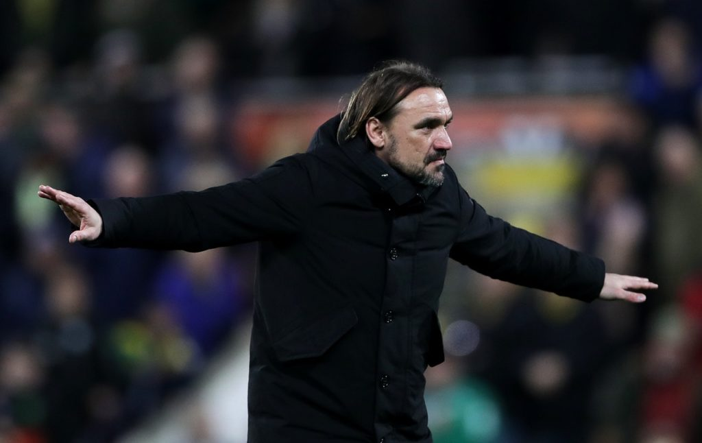 Norwich manager Daniel Farke preferred to focus on collecting three more points than on his new contract after watching his side beat Hull 3-2 at Carrow Road.