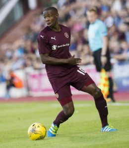 Reports claim Ligue 1 side Toulouse are keen to sign Hearts midfielder Arnaud Djoum in the summer transfer window.