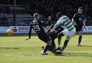 Odsonne Edouard's dramatic stoppage-time winner at Dundee took Celtic 10 points clear of Rangers at the top of the Ladbrokes Premiership.
