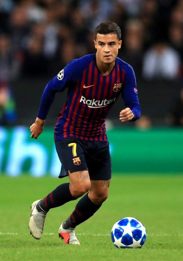 Philippe Coutinho has refused to rule out a move to Manchester United despite shining for Barcelona in the Champions League.