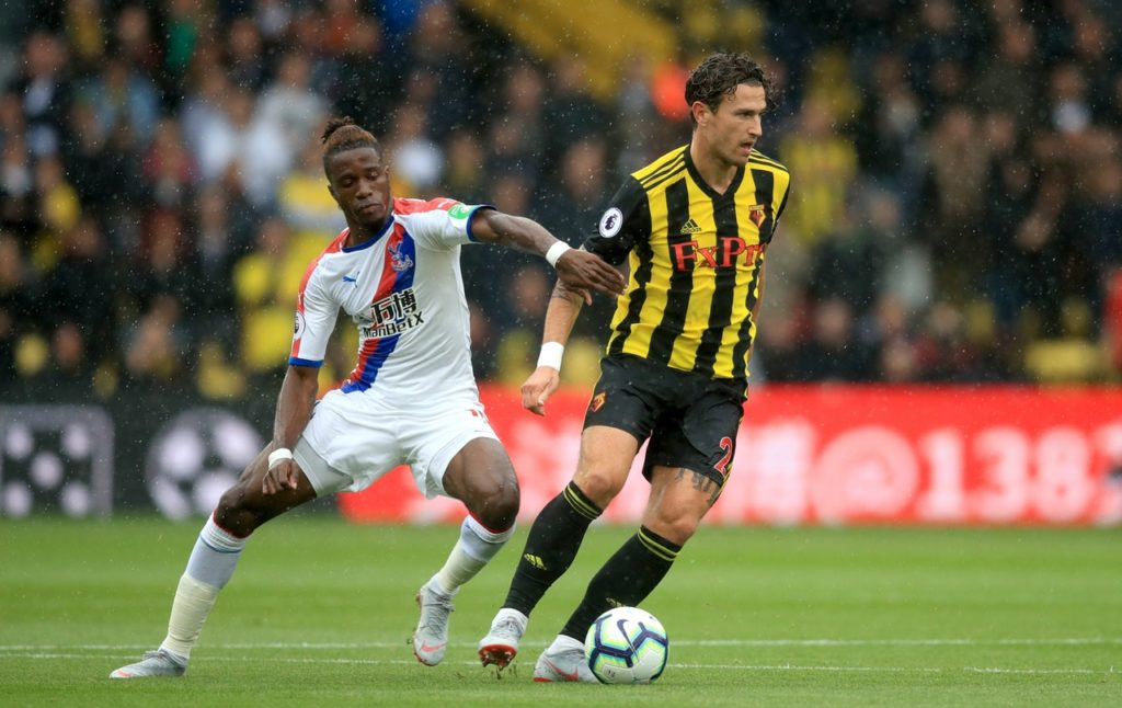 Watford head coach Javi Gracia has denied using underhand tactics to keep Crystal Palace danger man Wilfried Zaha quiet in the past.