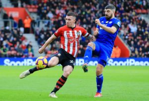 Southampton's Pierre-Emile Hojbjerg hopes the high standards he is setting can help him achieve his ambitions in the game.
