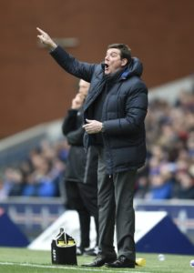 St Johnstone boss Tommy Wright admits he was more than surprised when goalkeeper Mark Hurst revealed he was quitting for the United States.