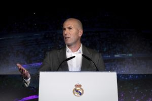 Zinedine Zidane has returned to Real Madrid with recharged batteries and no regrets after signing a three-year contract to replace the sacked Santiago Solari.