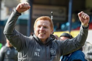 Neil Lennon will not allow Celtic to relax at the top despite stretching their Ladbrokes Premiership lead to 10 points.