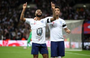 Raheem Sterling paid a touching tribute to a Crystal Palace youth-team player who died last weekend during England's 5-0 victory over the Czech Republic.