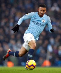 Manchester City striker Gabriel Jesus says he is determined to try and claim a starting spot with the Premier League champions.