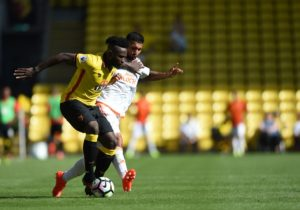 Obbi Oulare's latest injury woe means the striker may return to Watford from loan club Standard Liege at the end of the season.