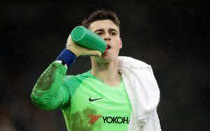 Maurizio Sarri praised the response of Kepa Arrizabalaga after he played a key role in Chelsea's 2-1 win at Fulham on Sunday.