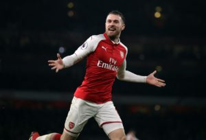 Arsenal midfielder Aaron Ramsey has been ruled out of Wales' Euro 2020 qualifier against Slovakia on Sunday with a thigh injury.