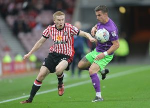 Sunderland winger Duncan Watmore is expected to miss the rest of the season after suffering ankle ligament damage.