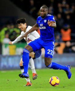 Cardiff City have been rocked by the news defender Sol Bamba has suffered knee ligament damage and will miss the rest of the season.