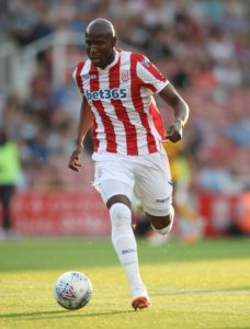 Peter Etebo and Benik Afobe fired Stoke to a 2-0 victory over play-off chasing Nottingham Forest and end a six-match winless run in the Sky Bet Championship.