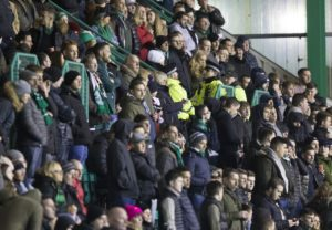 Hibernian chief executive Leeann Dempster has refused to rule out closing sections of Easter Road after another night of shame in Leith,