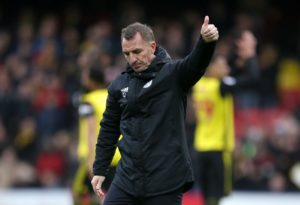 Brendan Rodgers saw enough from his Leicester side to be positive about the future, despite a 2-1 defeat at Watford.