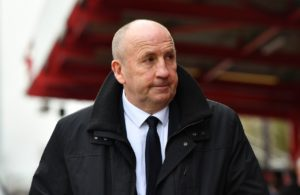 John Coleman was furious with the dismissal of his goalkeeper Dimitar Evtimov for throwing a bottle back into the crowd in the 2-1 loss to Blackpool.