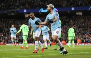 Manchester City face a second successive all-English Champions League quarter-final after being paired with Tottenham.