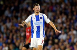 Brighton will be without midfielder Pascal Gross for the visit of Huddersfield on Saturday due to a hamstring problem.