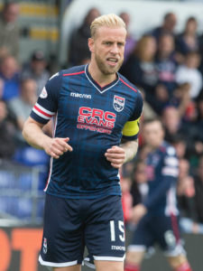 Dundee defender Andrew Davies has broken his foot for a second time.