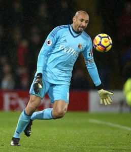 Watford boss Javi Gracia has indicated he will stick with goalkeeper Heurelho Gomes for next month's FA Cup semi-final against Wolves.