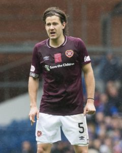 Midfielder Peter Haring only has thoughts for Hearts as he enters a crucial stage of the season and continues contract talks.