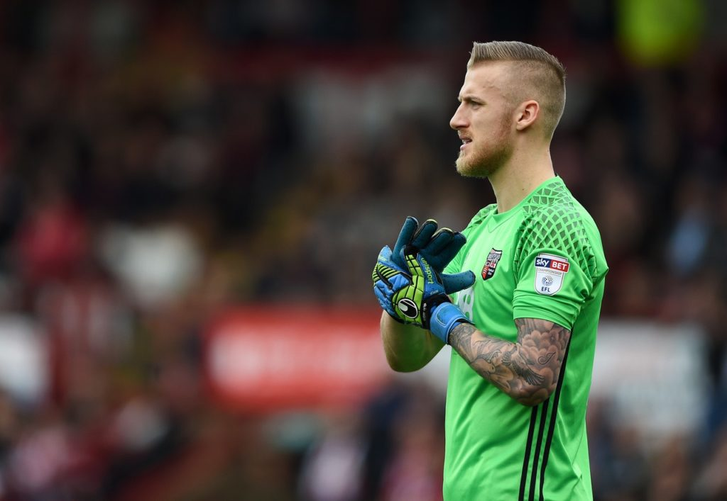 Brentford will again be without goalkeeper Daniel Bentley for the visit of West Brom.