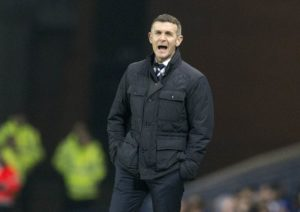 Dundee manager Jim McIntyre expects to be without his strike pair of Andrew Nelson and Craig Curran when his team host Hearts on Saturday.