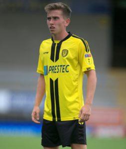Burton midfielder Joe Sbarra has joined National League promotion hopefuls Solihull Moors on loan.
