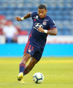 Memphis Depay put his current troubles at Lyon to one side and refused to comment on club issues when starring for Holland on Thursday.