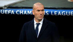 Zinedine Zidane will face the media on Monday evening after returning as Real Madrid coach following the sacking of Santiago Solari.