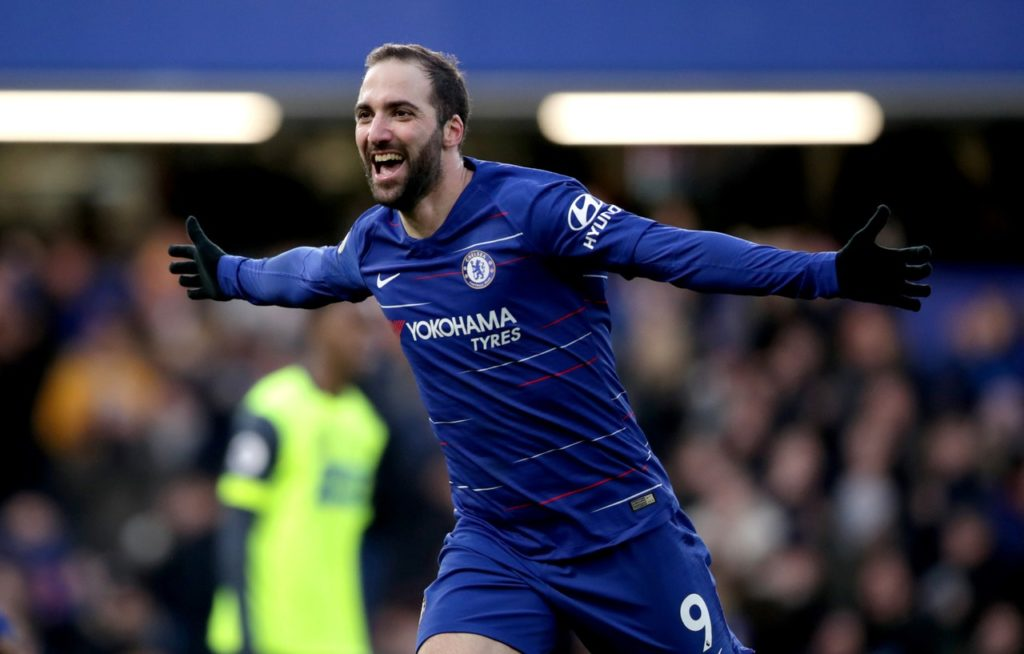 Chelsea will be without Gonzalo Higuain for tonight's Europa League clash against Dynamo Kiev after he picked up an illness.