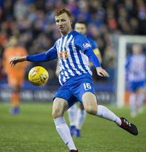 Kilmarnock defender Scott Boyd has been handed a contract for next season.