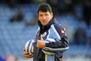 Mick Harford was delighted with his table-topping Luton side as they equalled last season's record of 11 unbeaten away games with a goalless draw at Plymouth.
