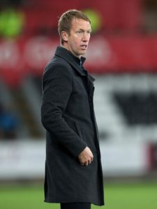 Swansea City manager Graham Potter has suggested he won't be handed a big transfer kitty in the summer.