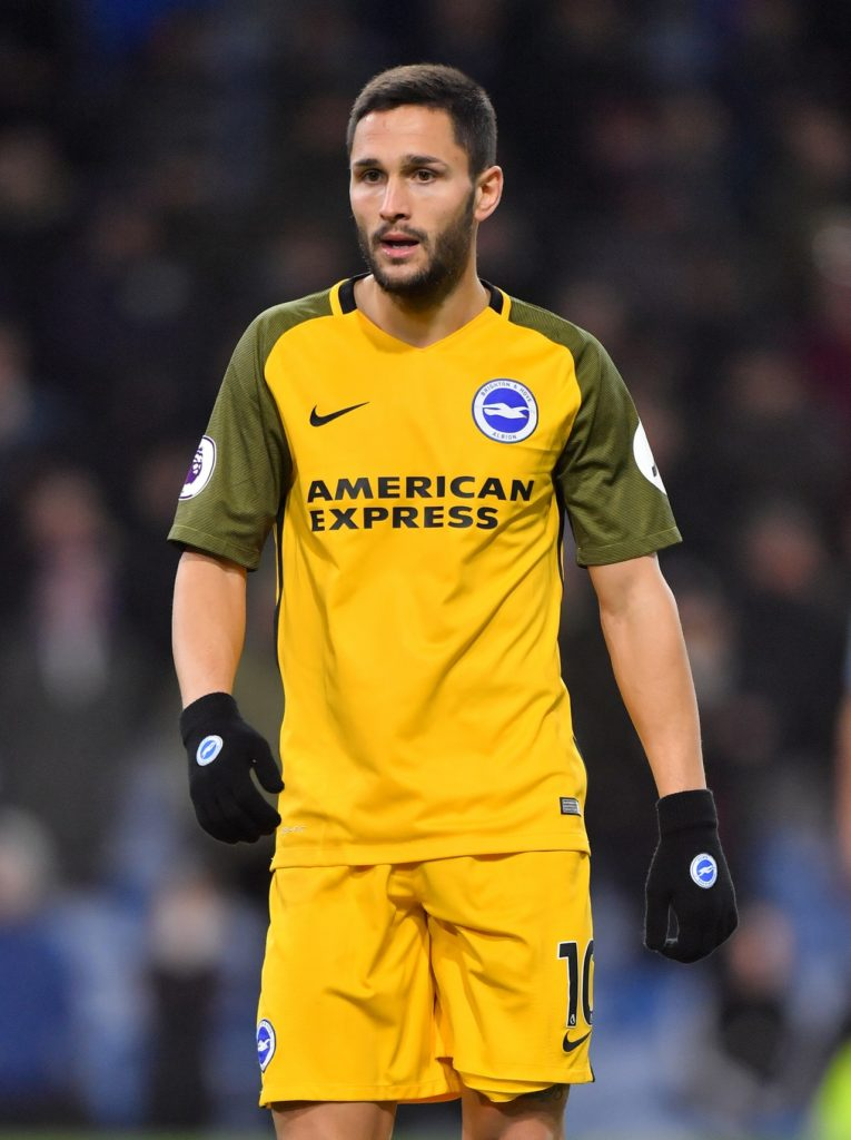 Brighton will be without Florin Andone and Pascal Gross for Sunday's FA Cup quarter-final clash at Millwall.
