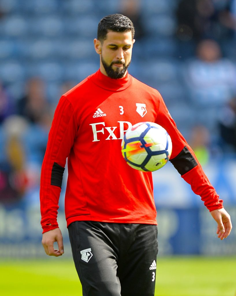 Miguel Britos says he will leave Watford in the summer as he is keen to move back to his homeland of Uruguay.