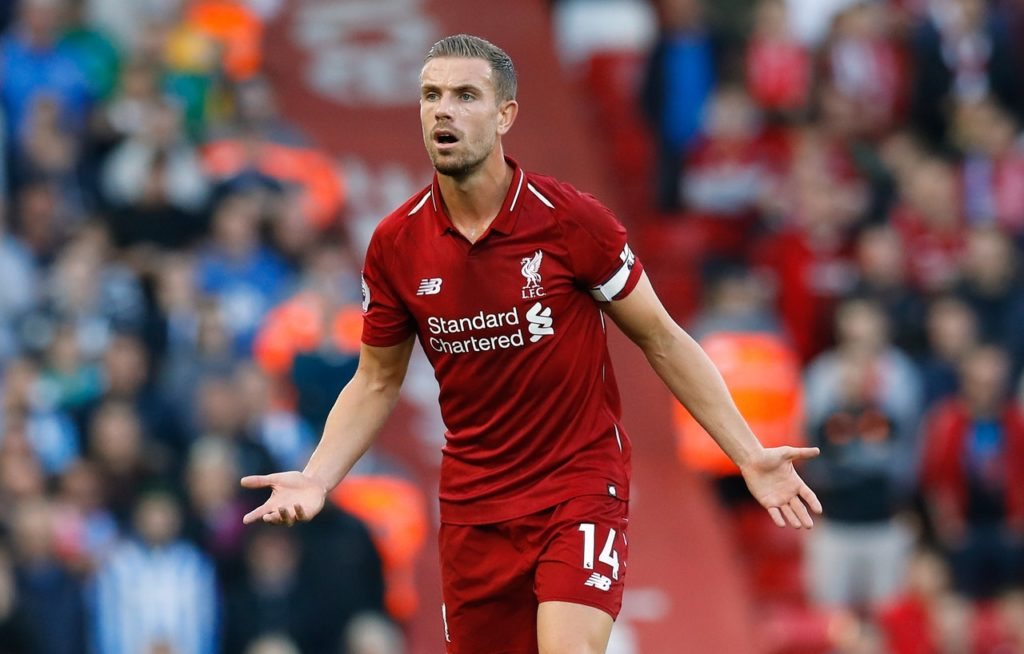 Liverpool captain Jordan Henderson will miss the trip to Fulham on Sunday but Naby Keita is expected to return.